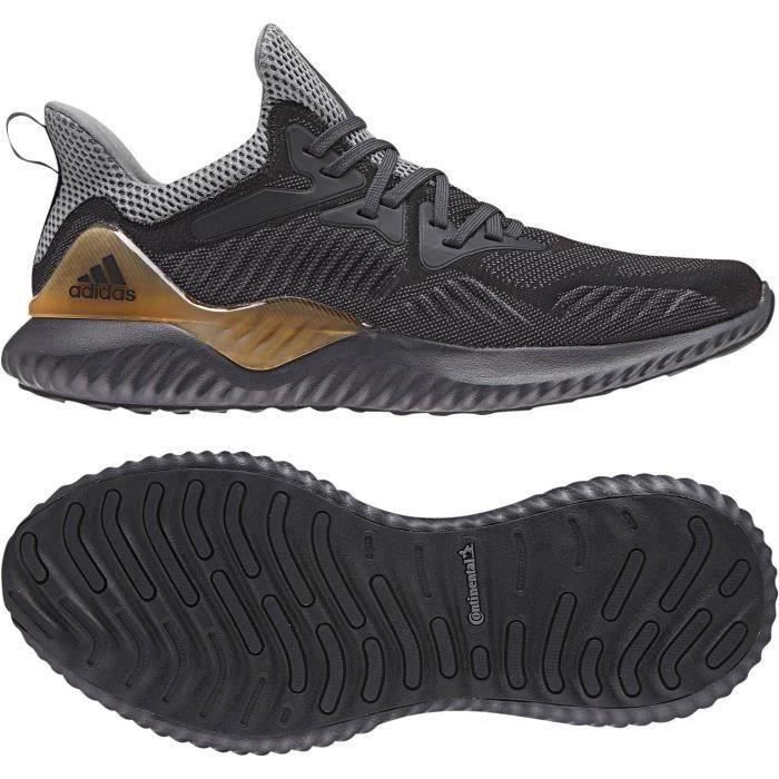8895354309db ADIDAS Chaussures de running Alphabounce 2 M - Homme - Noir homme ...