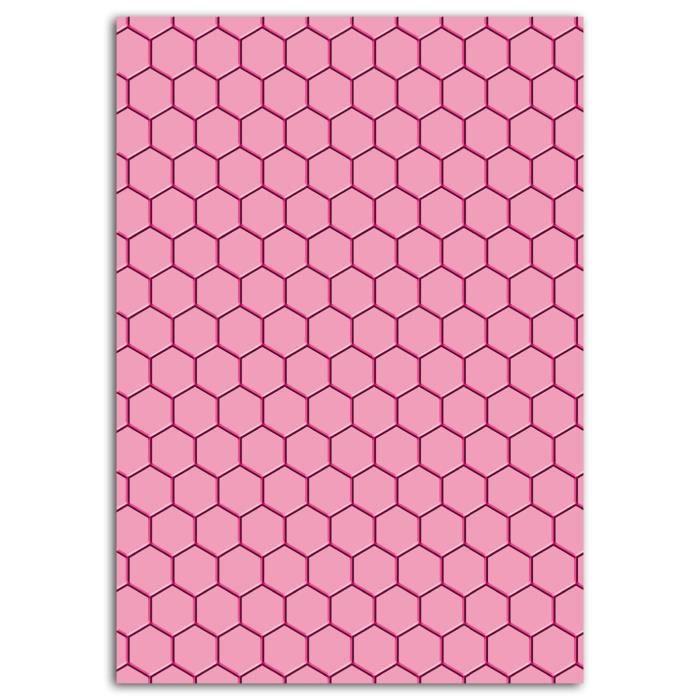 TOGA Plaque d'embossage A5 Nid D'abeille