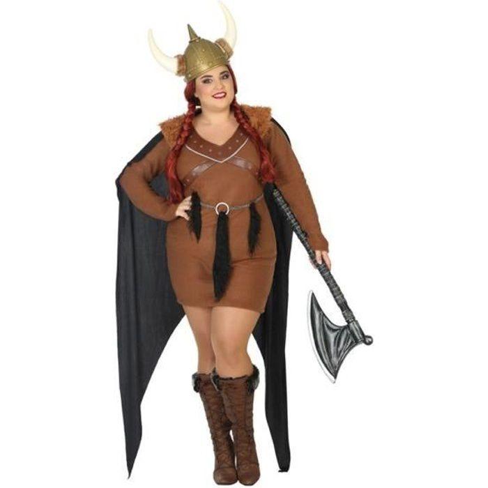 ea2dbbe72fa ATOSA Déguisement Femme Viking - Panoplie Adulte - Achat   Vente ...