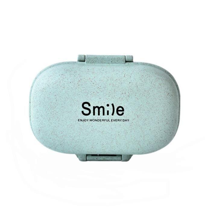 BOITE DE RANGEMENT 1 Piece pilules portable Boîte médecine de stockag