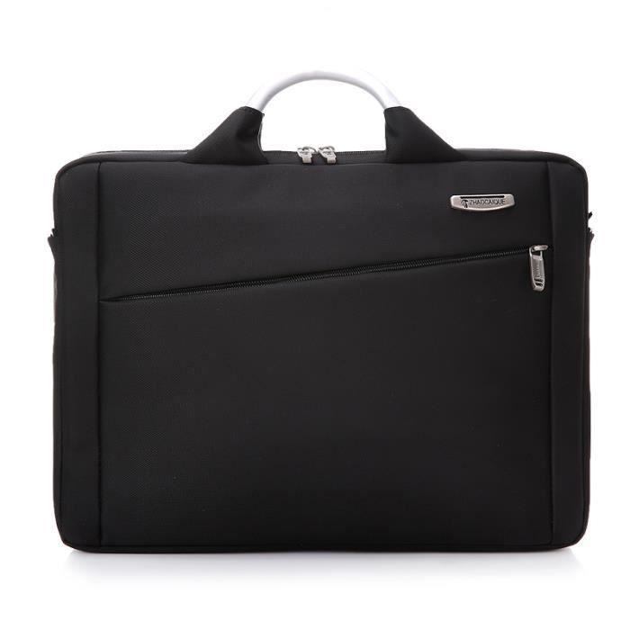 sac à mainOrdinateur portable Business Messenger Bag Porte-documents Poignée en aluminium épaule Oblique hommes et femmes I-256