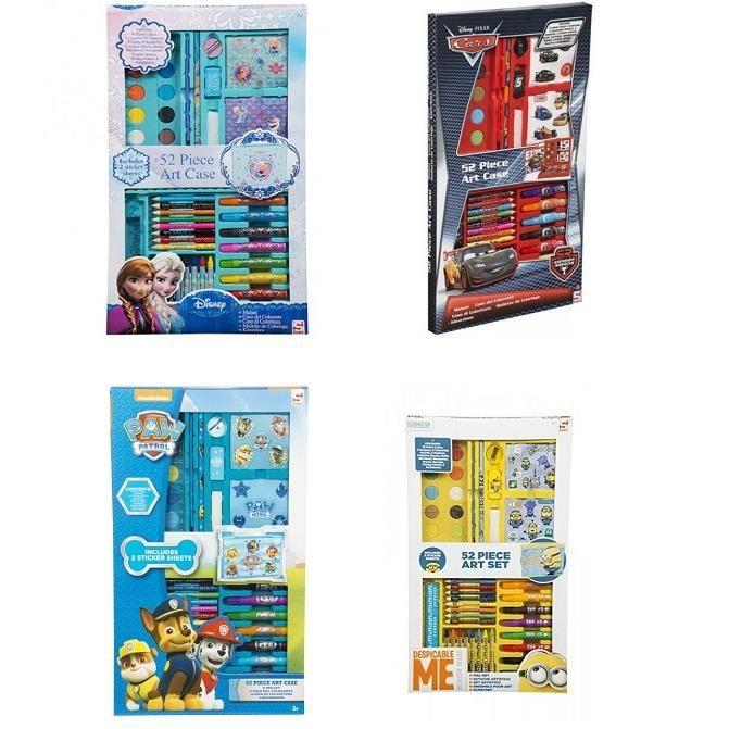 Malette De Coloriage 52 Piece Modele Aleatoire Dessin Crayon