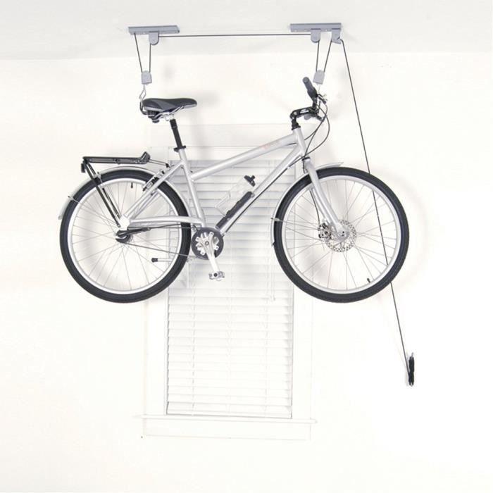 support de v lo pour plafond prix pas cher cdiscount. Black Bedroom Furniture Sets. Home Design Ideas