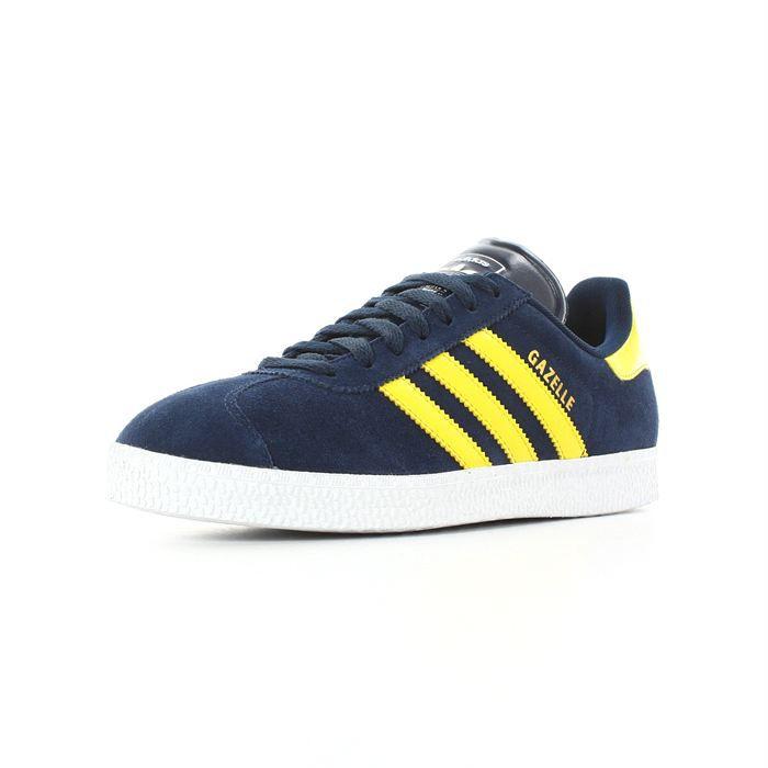 adidas gazelle bleu et jaune