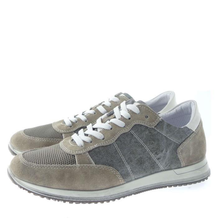 Igi&co Sneakers Homme Dove-grey/mud