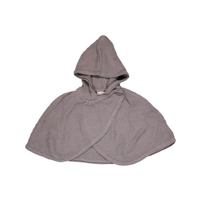Cape bébé fille KIABI 6 mois gris hiver - vêtement bébé  1014841 ... 4e67b2c4523