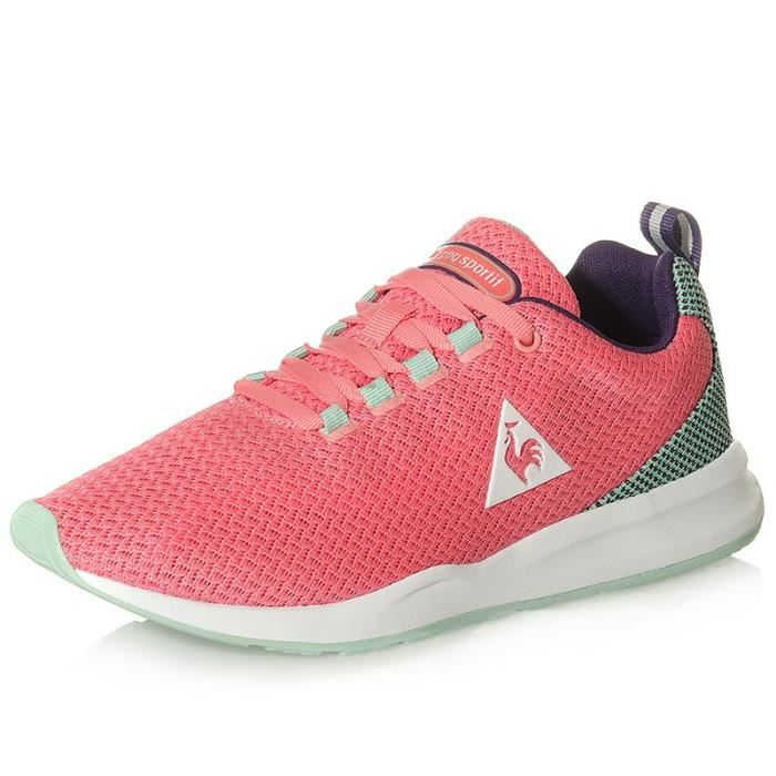 Rose Techracer Sportif Femme Chaussures Coq Le Mesh Nyv0POnwm8
