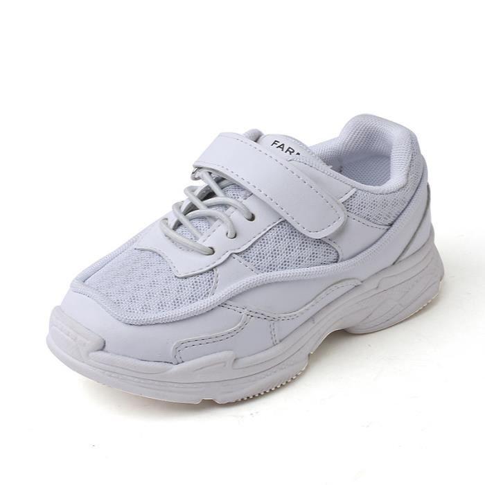 Sports Chaussure Course Enfant Fille Garçon respirant