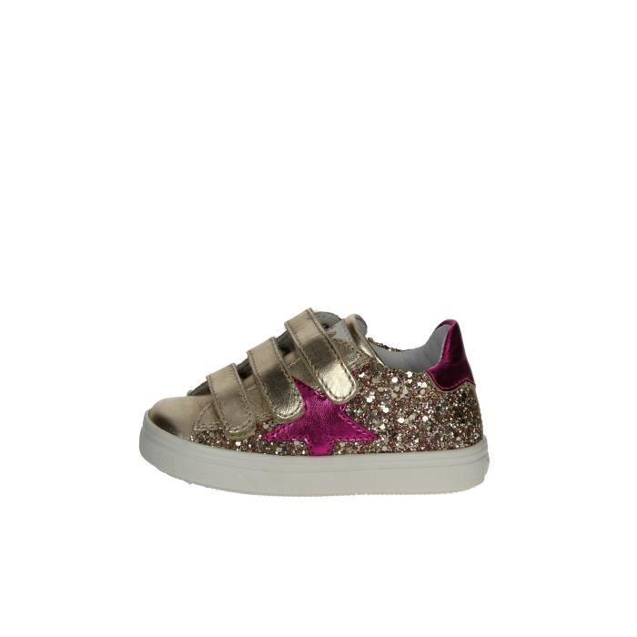 Ciao Bimbi Petite Sneakers Fille Platine , 21