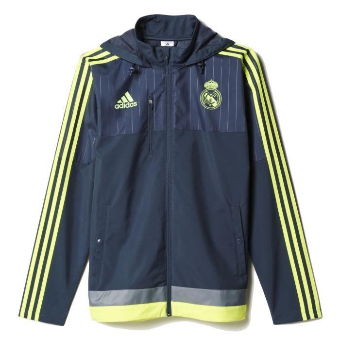 Veste Marine Ftl Adidas Homme Real Performance Madrid Football wO5FACq