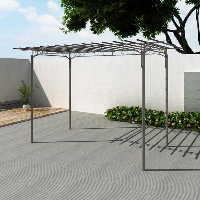 tonnelle de jardin en acier achat vente tonnelle barnum tonnelle de jardin en acier prix. Black Bedroom Furniture Sets. Home Design Ideas