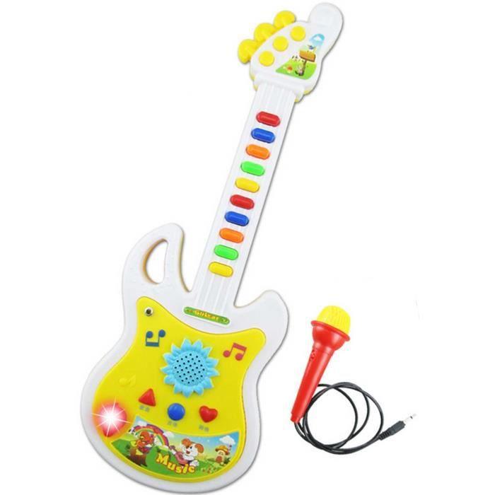 guitare bebe achat vente jeux et jouets pas chers. Black Bedroom Furniture Sets. Home Design Ideas