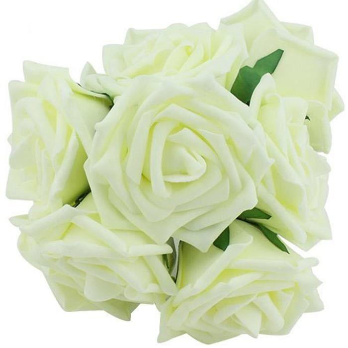 fleurs rose mariée bouquets de mariage (ivoire, 20pcs)cd-311 - achat