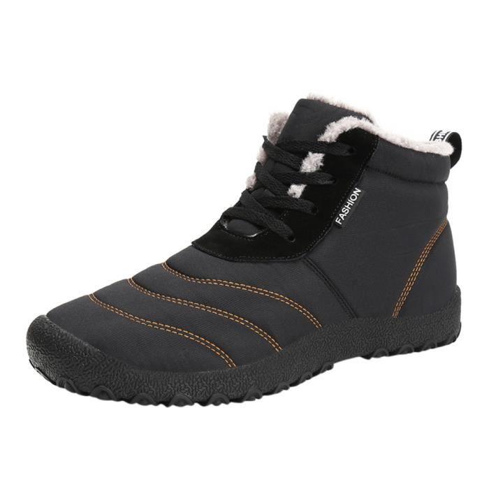 Bottes Plein Sport Chaussures Neige Casual 1001 Femmes Hiver L'eau Xmm71116531 De Air Imperméable Isolé Hommes À En Ex4qCC
