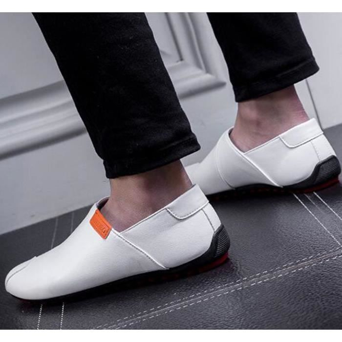2017 Luxe Chaussures arrivee Taille homme Grande De Nouvelle Marque cuir Moccasins Classique Confortable De arrivee Nouvelle Iwx4X