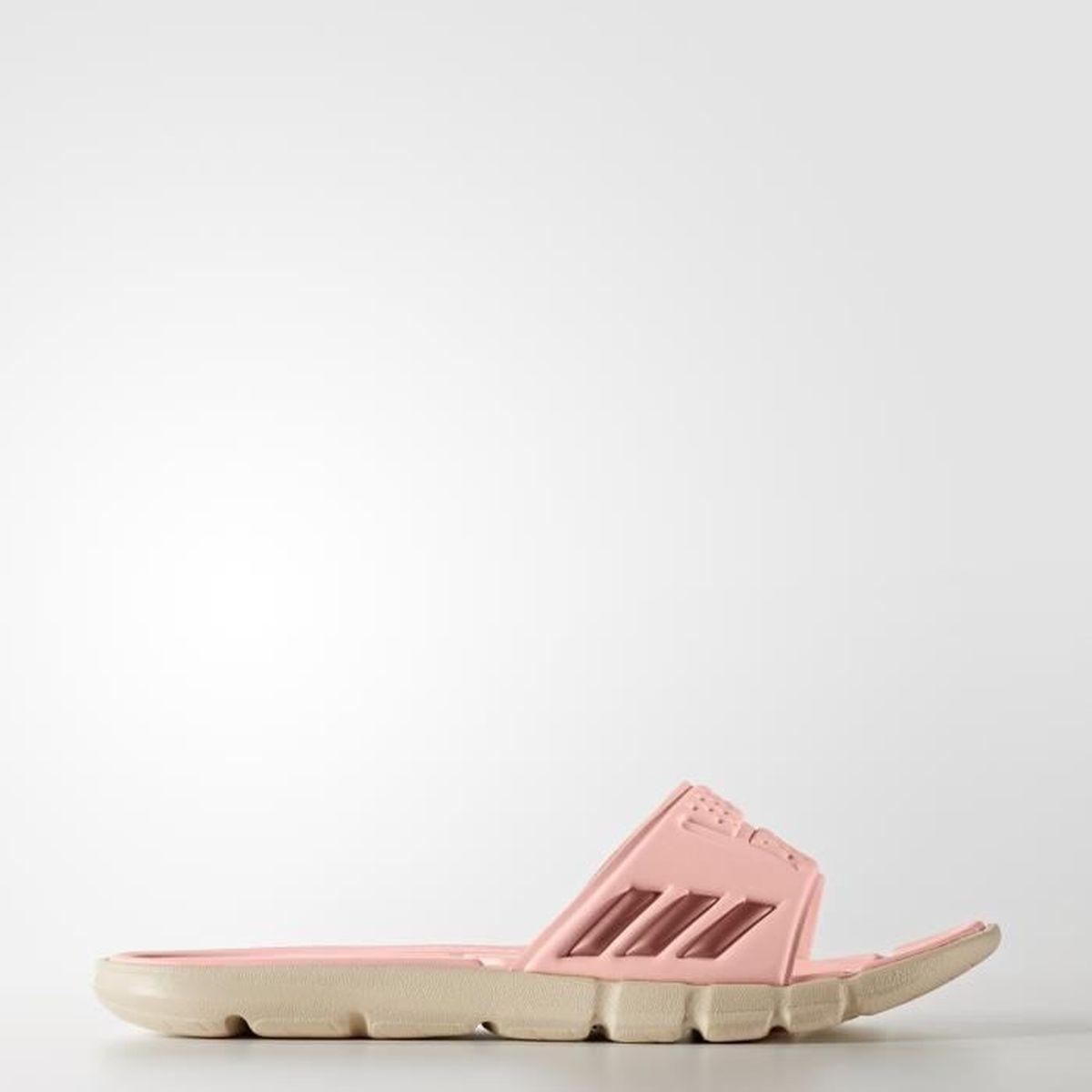sale retailer 81b0c 2818d BALLON DE WATER-POLO Sandales femme adidas adipure Cloudfoam - rose cor