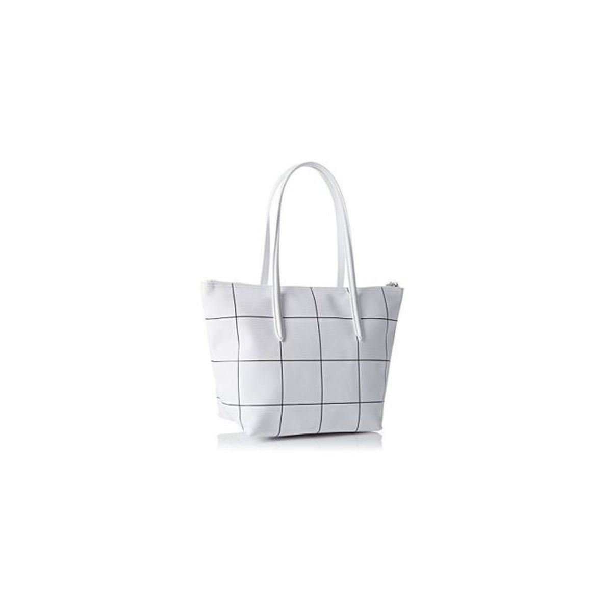 76d69b27d6 Lacoste - Sac cabas shopping (NF2032CF) white square 943 taille 36 ...