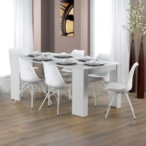 CONSOLE EXTENSIBLE GOOMY Table console extensible 6 personnes 50-180x