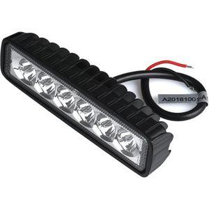 PHARES - OPTIQUES 18W lampe LED Lampe de travail Lampe Conduite Brou