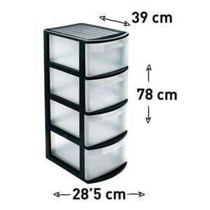 BOITE DE RANGEMENT Paniers et Boîtes de Rangement Boîte de Stockage 4