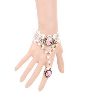 BRACELET - GOURMETTE Mode dentelle sexy Bracelets gothiques anciennes v