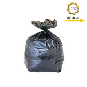 sac poubelle 50 litres achat vente sac poubelle 50 litres pas cher cdiscount. Black Bedroom Furniture Sets. Home Design Ideas