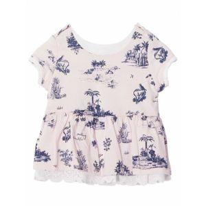 673b8cbe3e1c6 T-SHIRT IKKS - T.shirt reversible tendre manches courtes