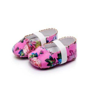 BOTTE Nouveau-né Infantile Bébé Filles Motif Floral Crib Chaussures Souple Anti-slip Sneakers@BlancHM QVvE4y2xD