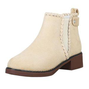 BOTTINE Femmes solides Chaussures Compensées couleur Marta