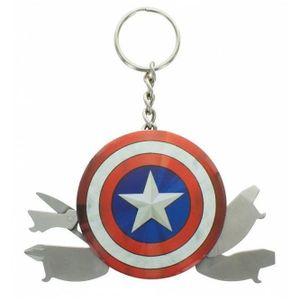 PORTE-CLÉS Porte-clés Marvel - Captain America 4 en 1