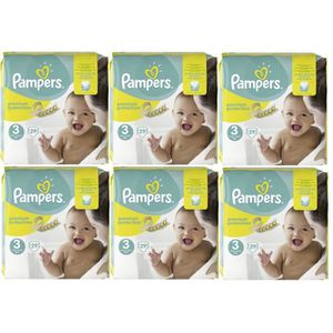 COUCHE Pampers Premium Protection Taille 3 Midi 5-9kg 174