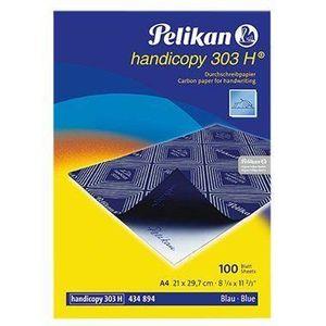 PAPIER IMPRIMANTE Pelikan Pack de 100 feuilles de papier carbone A4