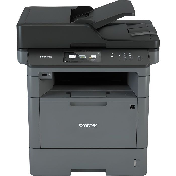 BROTHER Imprimante multifonctions 4 en 1  MFC-L5700DN - Laser - Monochrome - USB 2.0, Wi-Fi, Ethernet - Recto-verso - A4