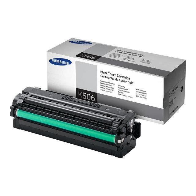 SAMSUNG Toner CLT-K506L/ELS - Noir - haute Capacité 6.000 pages