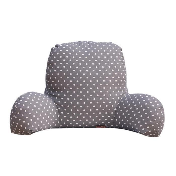 halovie t-forme coussin pour dos en mousse à mémoire amovible