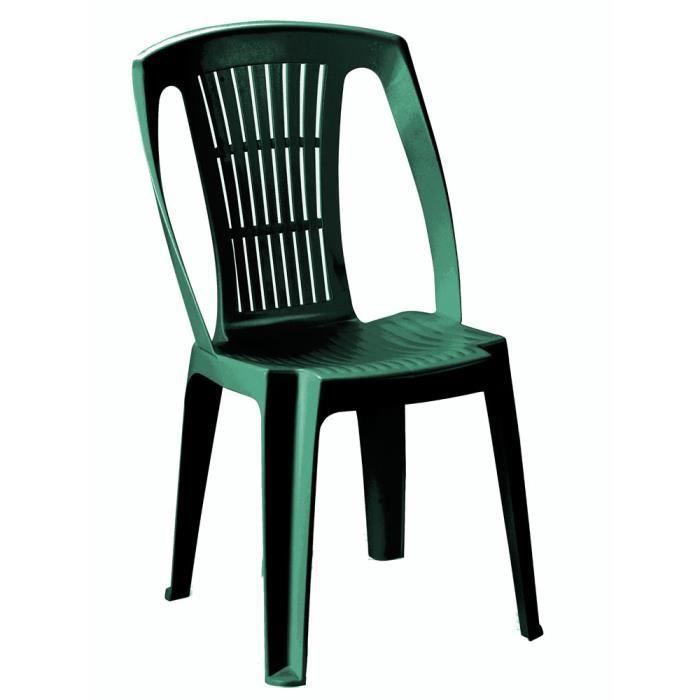 chaise jardin plastique vert achat vente chaise jardin plastique vert pas cher soldes d s. Black Bedroom Furniture Sets. Home Design Ideas