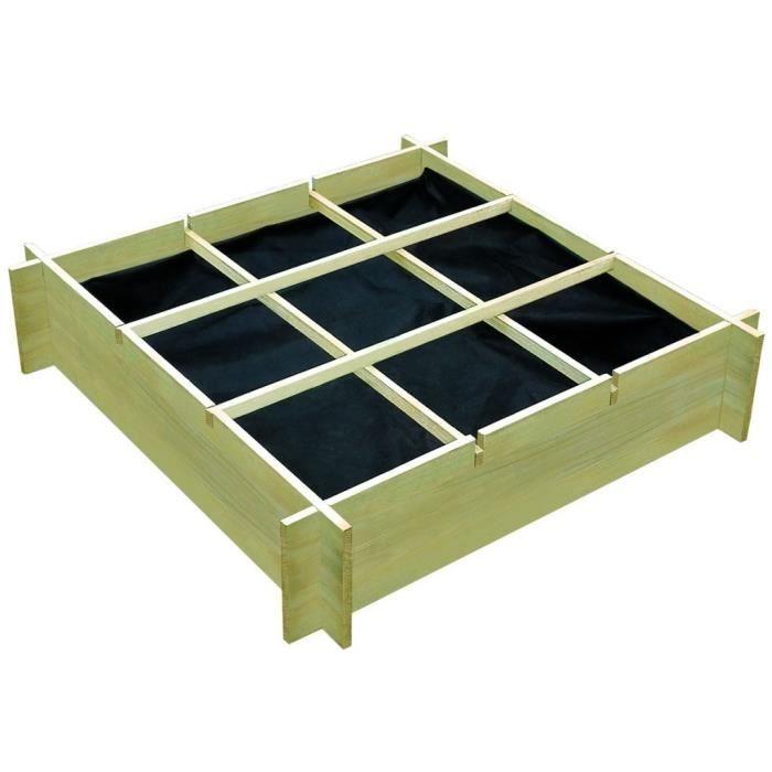 carré potager en bois - achat / vente carré potager en bois pas