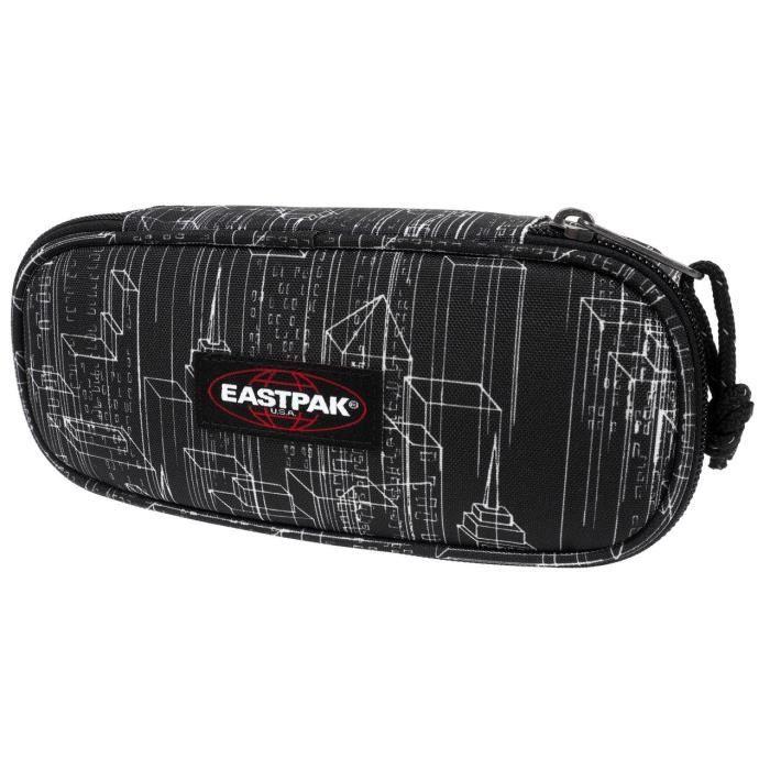 586e373732 Trousse à crayons Oval black blocks trousse - Eastpak UNI Noir Noir ...