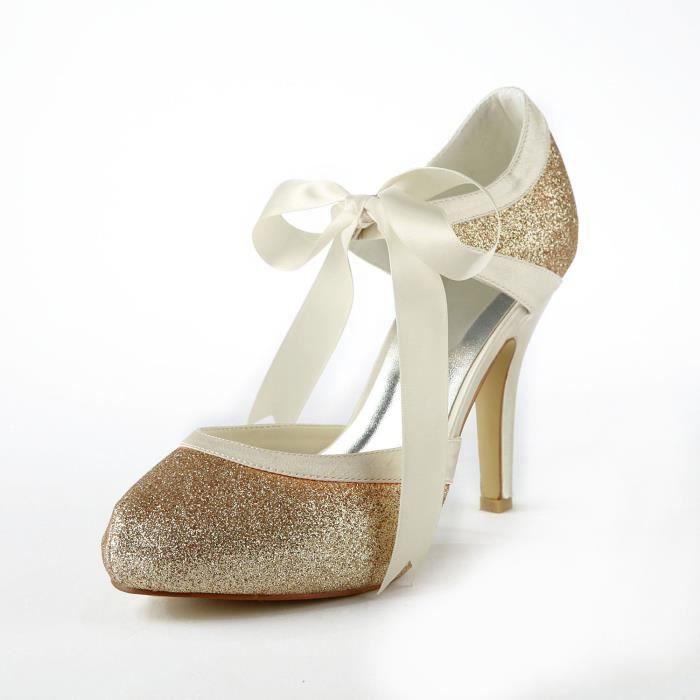 Jia Jia Wedding 37030 chaussures de mariée mariage Escarpins pour femme