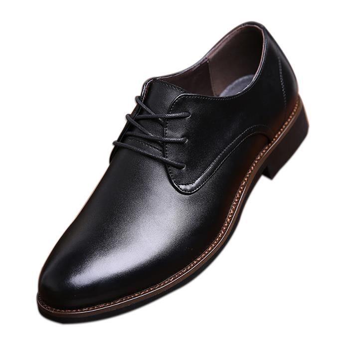 IZTOSS Mocassin Homme Business Robe Laçage Chaussures OQMhD