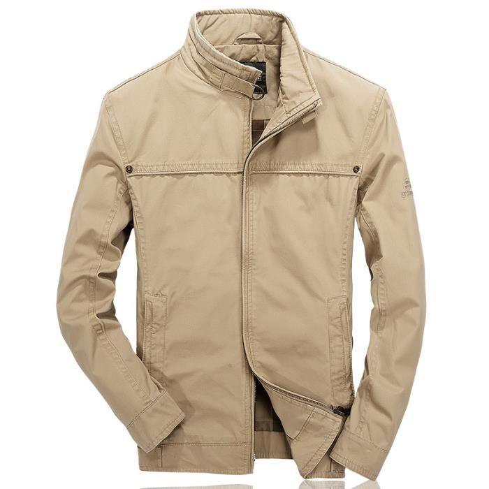 BLOUSON JTong Blouson homme coton décontractée jacket men'