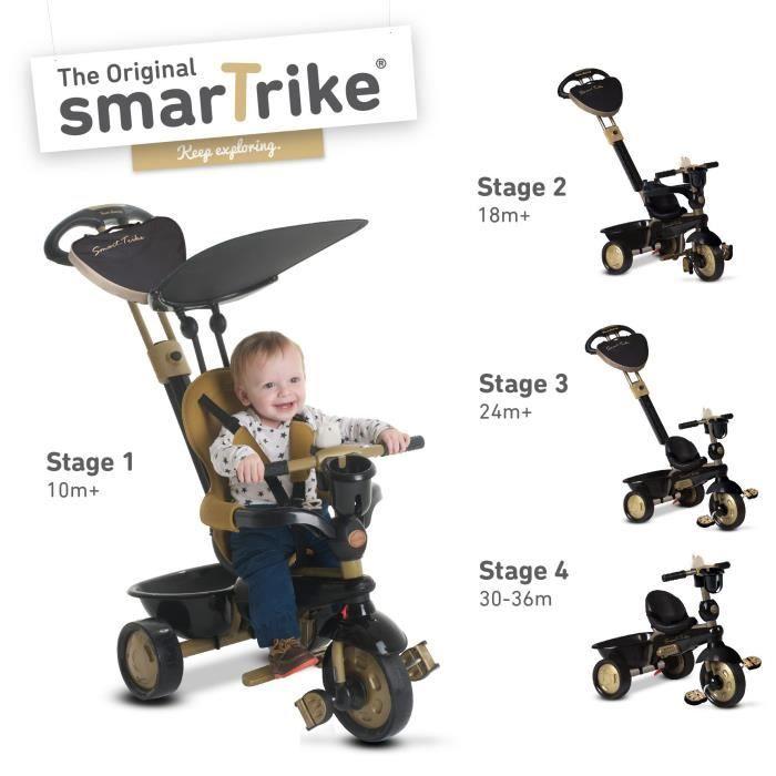 SMART TRIKE Tricycle Dream 4 en 1 - Noir - Prix pas cher ...
