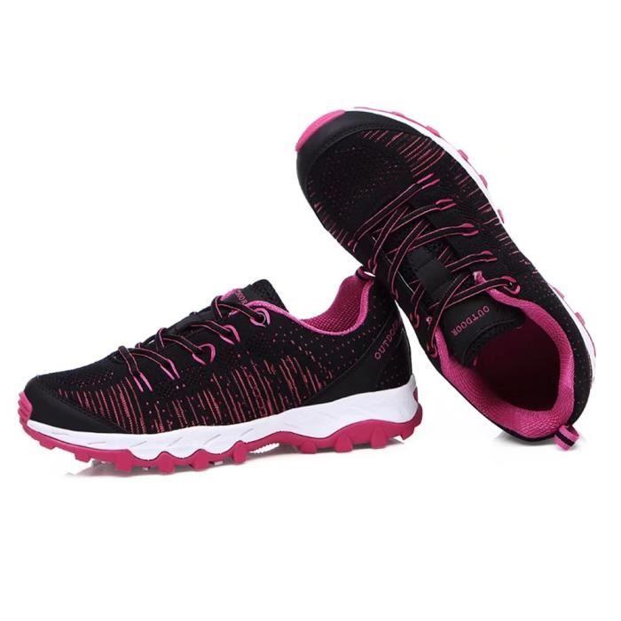 Basket femme chaussure de course avec lacet confortable pratique