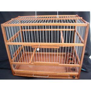 cage oiseaux bois achat vente pas cher. Black Bedroom Furniture Sets. Home Design Ideas