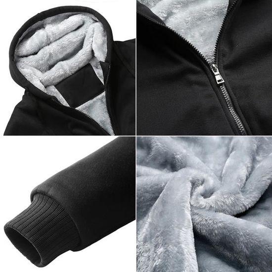 Homme Correspondance Masculin Avec Vêtement Velours Des Blouson Encapuchonné Couleurs Du dBqWx44wX