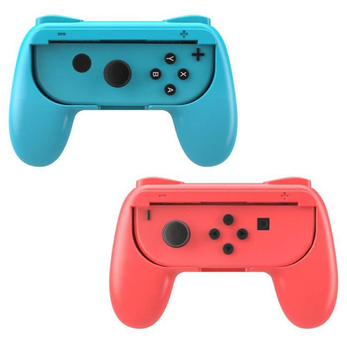 ADAPTATEUR MANETTE Grips (Poignées) Compatible Avec Nintendo Switch J