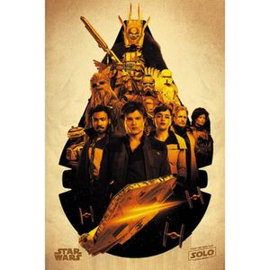 AFFICHE - POSTER Poster Star Wars - Solo: A Star Wars Story, Millen