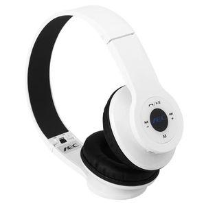 CASQUE - ÉCOUTEURS Casque Bluetooth Multifonction sans Fil Pliable TF