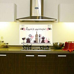 Nouveau modèle de cuisine bricolage amovible décalque de vinyle Décoration  de maison Autocollant mural rt161