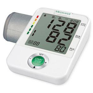 TENSIOMETRE P172 Medisana Tensiometre de bras BU A50 Blanc